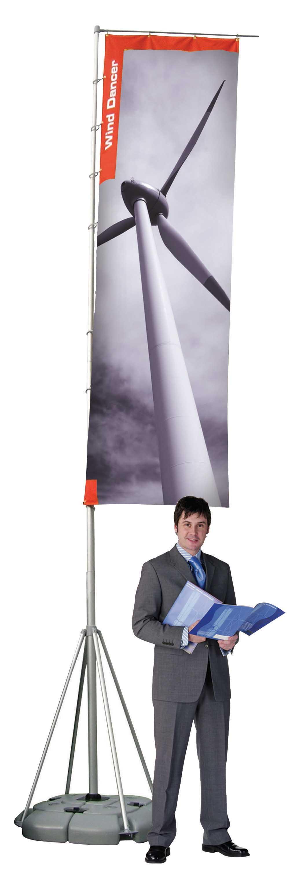 Wind  dancer  5m magas zászló tartó